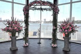 wedding arches inside superior florist event florals