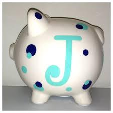 monogram piggy bank 243 best piggy banks images on piggy banks