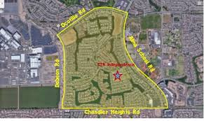 map of chandler az recently sold homes in shores at ocotillo in chandler az