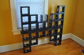 scaffali fai da te librerie fai da te originali mobili arredamento mensole