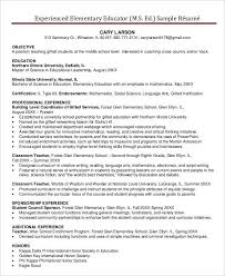 Teacher Resume Samples And Writing by Teacher Resume Sample 28 Free Word Pdf Documents Download