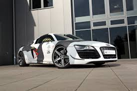 wrapped r8 audi r8 receives arctic camo wrap and mods from mbdesign