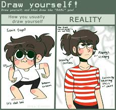 Meme Yourself - draw yourself meme by chioco on deviantart