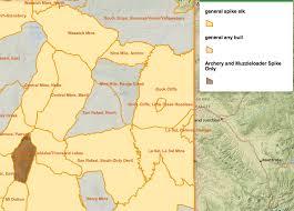 hunt maps utah division of wildlife resources big archery