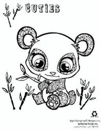 draw easy baby pandas monkeys free printable coloring