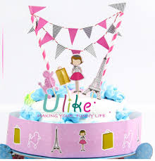 baby shower cake toppers girl party cake decor happy birthday cake toppers cake