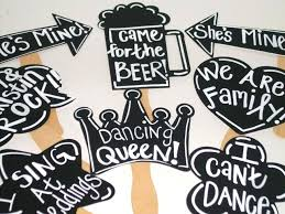 photo booth prop ideas photo prop chalkboard 8 booth props with phrases written chalk board