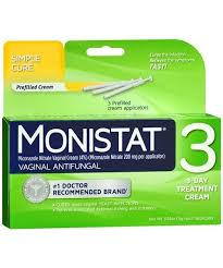 monistat 3 vaginal antifungal cream applicator 3ct the medicine