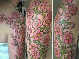 201 best cherry blossom tattoos images on pinterest awesome
