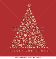 merry christmas celebration greeting card invitation stock vector