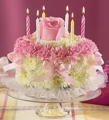 birthday flower cake birthday flower cake arrangement in minneapolis mn schaaf floral