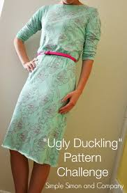what i made for the ugly duckling pattern challenge or my 2 50