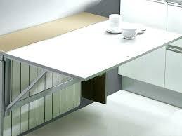 table rabattable cuisine table abattant murale table cuisine murale rabattable table