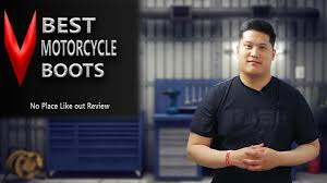 best motorbike boots best motorcycle boots review no place like out youtube