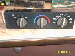used chevrolet express 3500 a c u0026 heater controls for sale