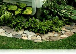 Rocks For Garden Edging Best 25 Rock Garden Borders Ideas On Pinterest Pond Rocks Yard