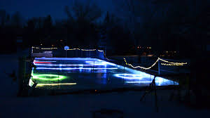 triyae com u003d backyard rink lighting various design inspiration