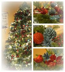 crissy u0027s crafts aqua and red christmas tree