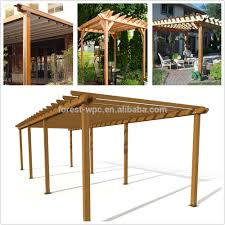 Pergola Post Design by Roof Deck Railing Wpc Post For Wpc Pergola Gazebo Buy Roof Deck