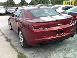 rebuildable camaro sell used chevy camaro salvage rebuildable repairable payment plan