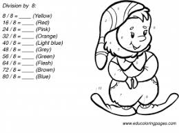 division worksheets by 8