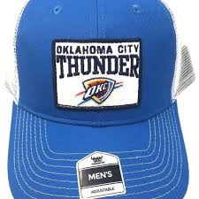 favorite blue fan favorite accessories okc hat olympic blue with curved bill