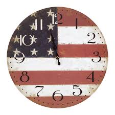 yosemite home decor 14 in circular wooden wall clock with