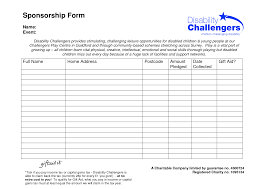 Insurance Inventory List Template Sponsorship Template Form Leave Application Form Free Brochure