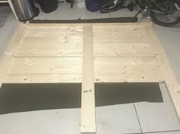 how to make a bed headboard diy shiplap headboard starfish cottage