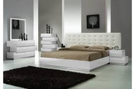 All White Bed All White Bed Set Tags White Modern Bedroom Furniture White
