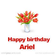 happy birthday ariel free e cards