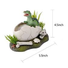 new born broken shell dinosaur air operated aquarium ornaments fish