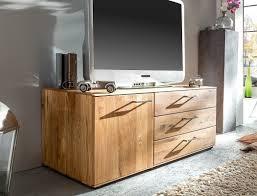 Wohnzimmer Massivholz Lowboard Curtis Wildeiche Geölt Massivholz 120x48x50 Cm Tv Schrank
