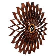 Mid Century Modern Homes For Sale Memphis by Mid Century Modern Sunflower Wall Clock By George Nelson For