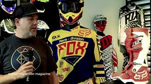 fox motocross gear 2014 the 2014 fox mx line motocross action magazine youtube