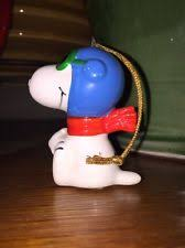 Snoopy Airplane Christmas Decoration by Snoopy Flying Ace Collectibles Ebay