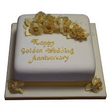 golden wedding cakes anniversary cakes cakes individually iced