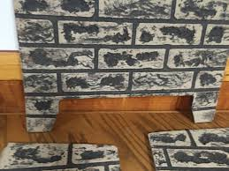 kingsman 3 piece refractory brick liner for direct vent