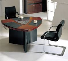 Cool Meeting Table Furniture Cool White Black Theme Modern Office Workspace With