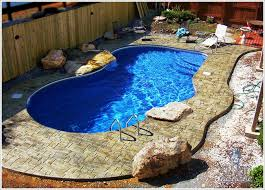 Small Backyard Swimming Pool Ideas Custom 30 Pool Decorating Ideas Decorating Design Of Best 25