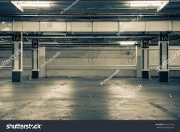 parking garage interior industrial buildingempty underground stock parking garage interior industrial building empty underground