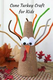 thanksgiving turkey cone craft for kids surviving a teacher u0027s salary