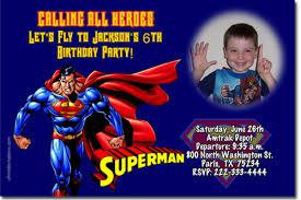 superman birthday invitations super hero birthday invitations