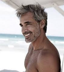 dark hair with grey models best 25 grey hair guys ideas on pinterest grey hair beard grey
