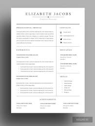 Simple Sample Of Resume Format by Best 25 Professional Resume Design Ideas On Pinterest