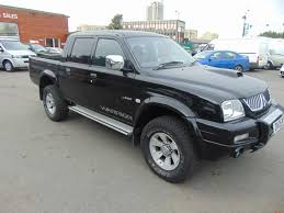 used black mitsubishi l200 for sale warwickshire