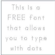 free abc print dotted font fonts4teachers teacherspayteachers