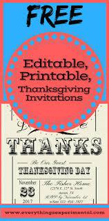 free thanksgiving dinner invitations free printable invitation