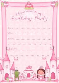 Birthday Invite Cards Free Printable Kids Birthday Invite Template 1st Birthday Invitation Templates