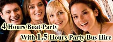 thames river boat hen party boat party london